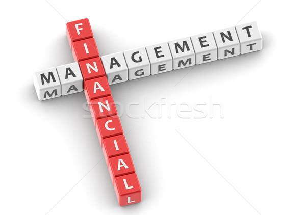 Financeiro gestão imagem prestados usado Foto stock © tang90246