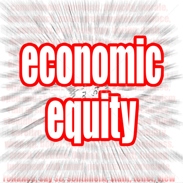 Economic equity Stock photo © tang90246