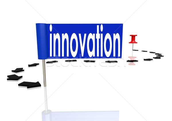 Push pin to innovation Stock photo © tang90246