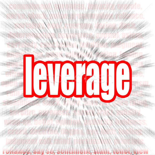 Leverage word cloud Stock photo © tang90246