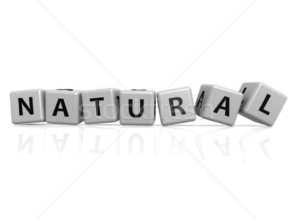Natural  buzzword Stock photo © tang90246