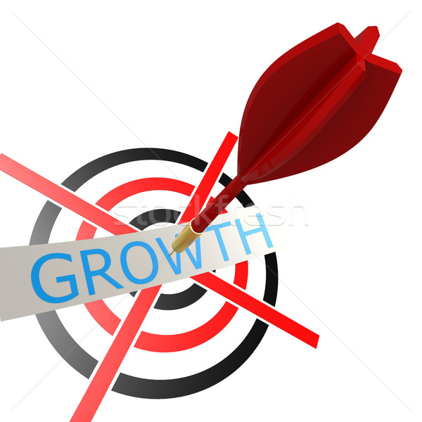 Dart with growth Stock photo © tang90246