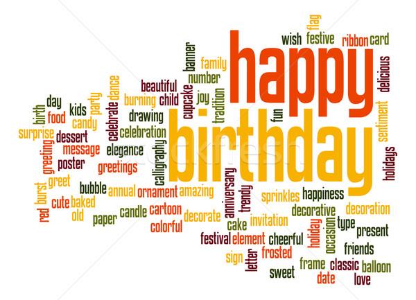 Cake Recipe Marathi Song: Gelukkige · Verjaardag · Woordwolk · Partij · Gelukkig
