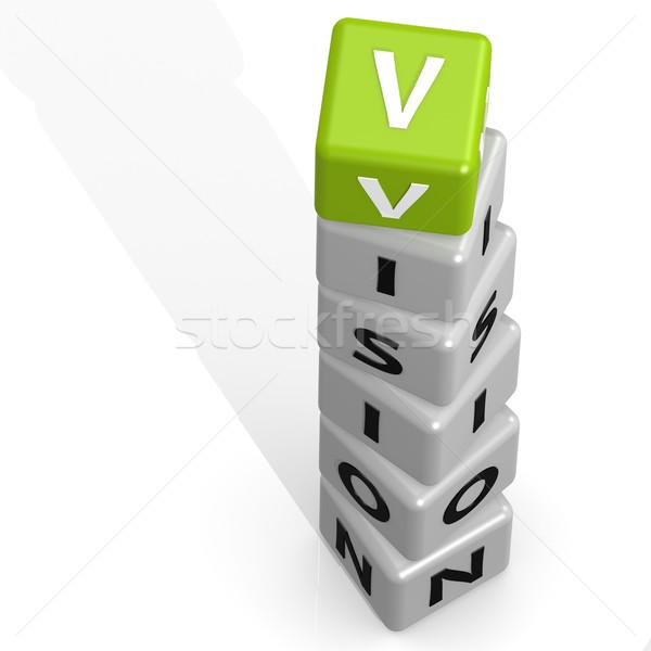 Vision green Stock photo © tang90246