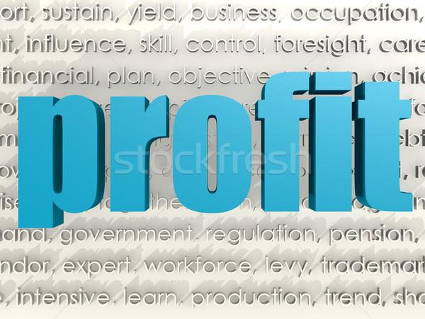 Profit Stock photo © tang90246