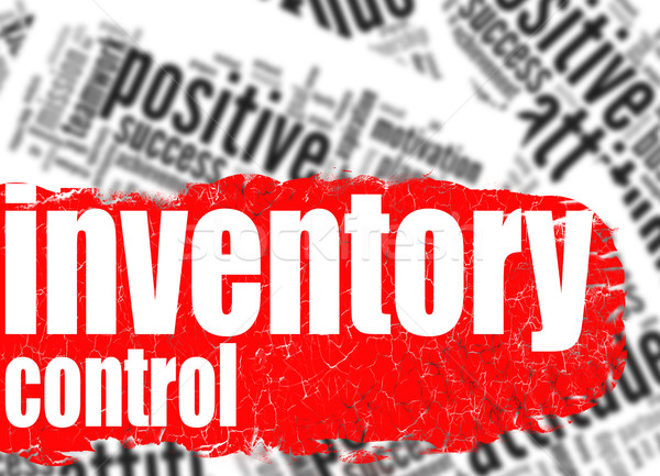 Word cloud inventory control Stock photo © tang90246