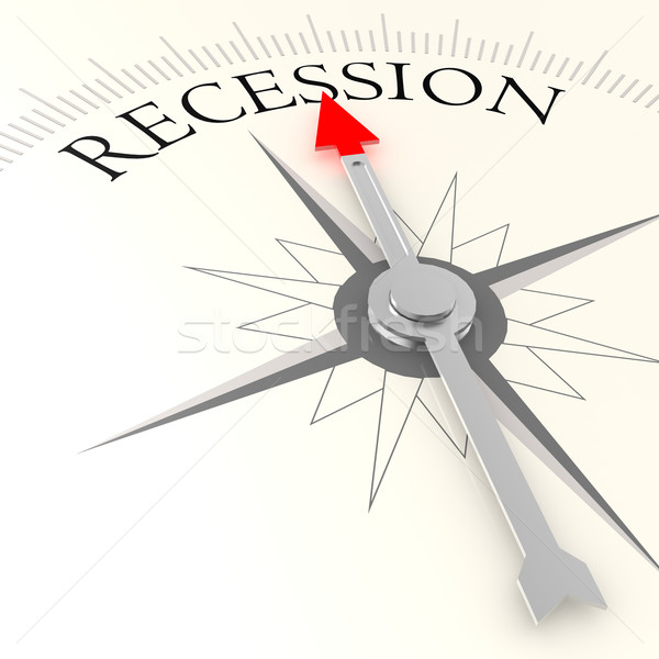Recession compass Stock photo © tang90246