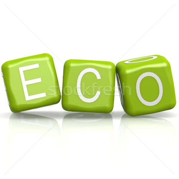 Eco buzzword Stock photo © tang90246