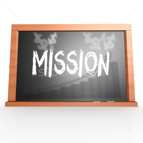 миссия слово изображение оказанный Сток-фото © tang90246