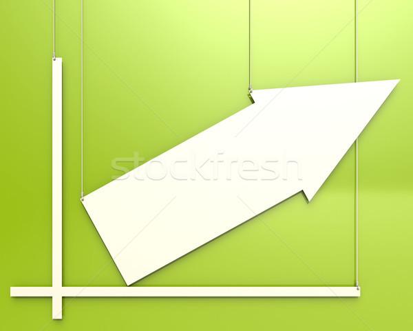 Traçar verde imagem prestados usado Foto stock © tang90246