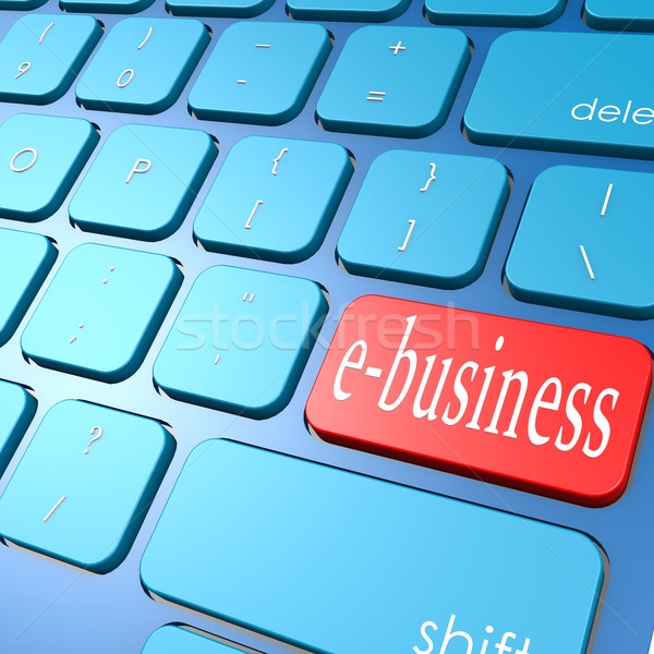 E-business keyboard Stock photo © tang90246