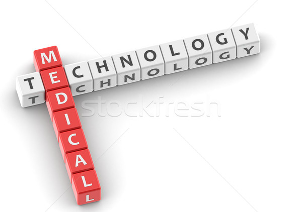Buzzwords medical technology Stock photo © tang90246