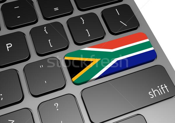 ЮАР клавиатура изображение оказанный используемый Сток-фото © tang90246