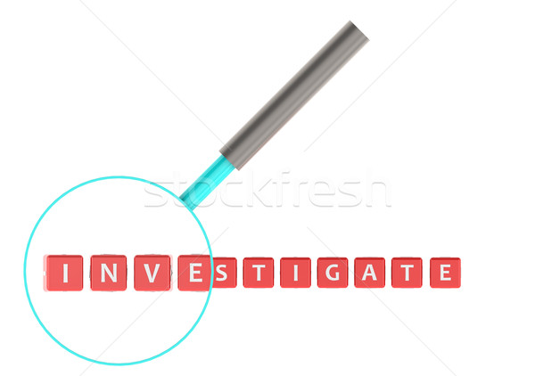 Investigate Stock photo © tang90246