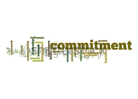 Commitment word cloud Stock photo © tang90246
