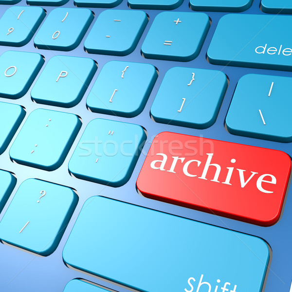 Archive keyboard Stock photo © tang90246