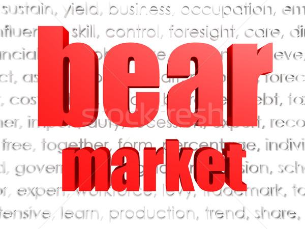 Bear market Stock photo © tang90246