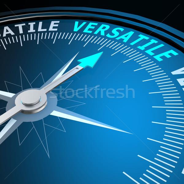 Versatile word on compass Stock photo © tang90246