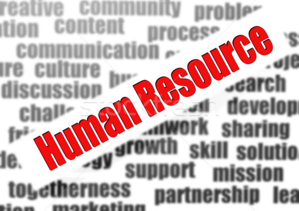 человека ресурс работу дизайна веб облаке Сток-фото © tang90246
