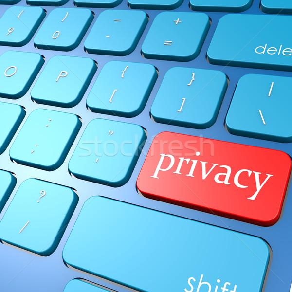 Privacy keyboard Stock photo © tang90246