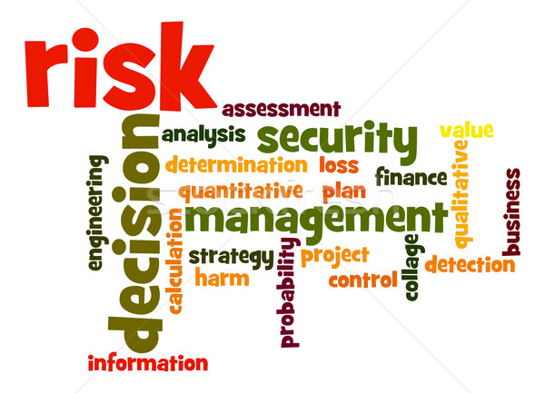 Risk word cloud Stock photo © tang90246