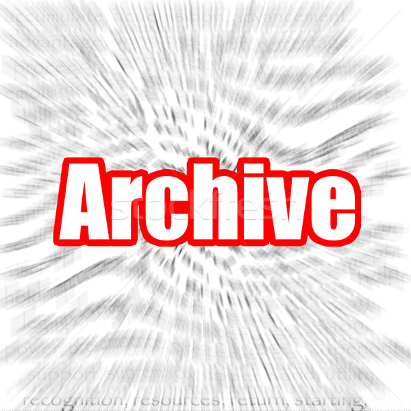 Archive Stock photo © tang90246