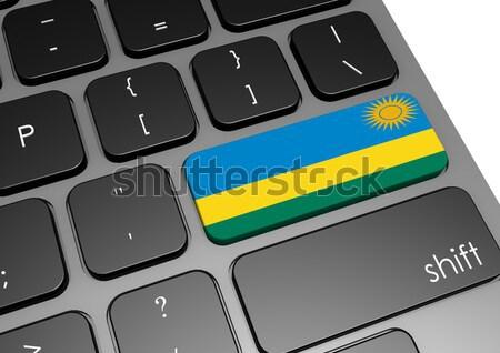 таблетка Маврикий флаг изображение оказанный Сток-фото © tang90246