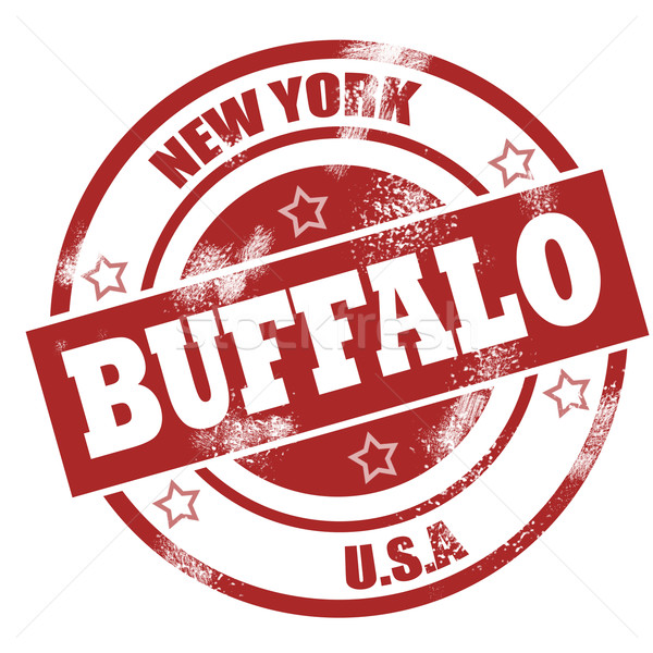 Buffalo stamp Stock photo © tang90246