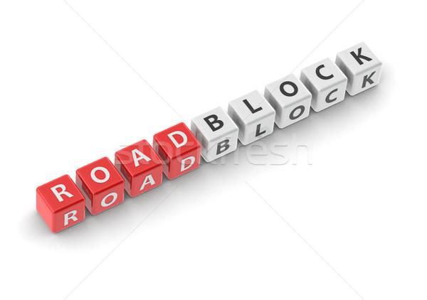Roadblock Stock photo © tang90246