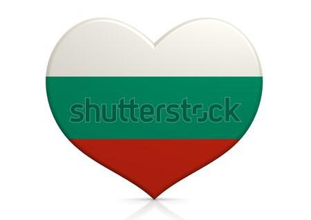Болгария сердце фон путешествия стране концепция Сток-фото © tang90246