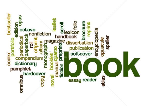 Book word cloud Stock photo © tang90246