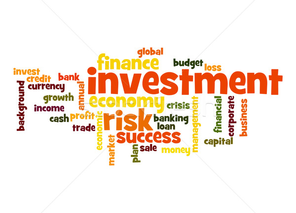 Investment word cloud Stock photo © tang90246