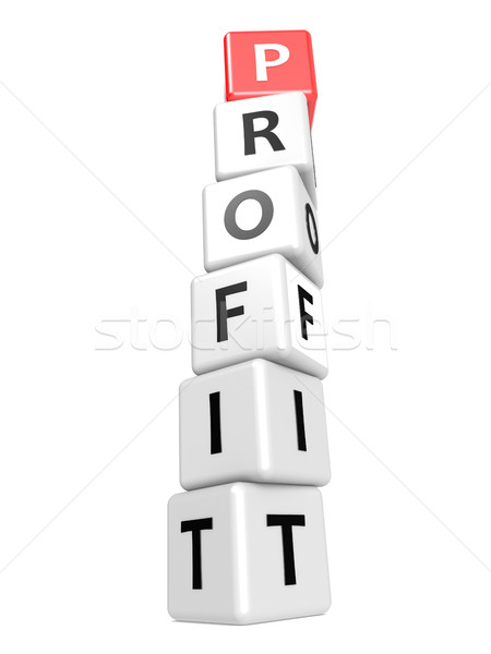 Buzzword profit Stock photo © tang90246