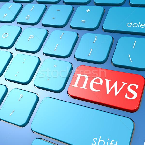 News keyboard Stock photo © tang90246