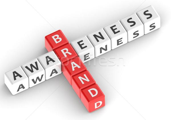 Buzzwords brand awareness Stock photo © tang90246