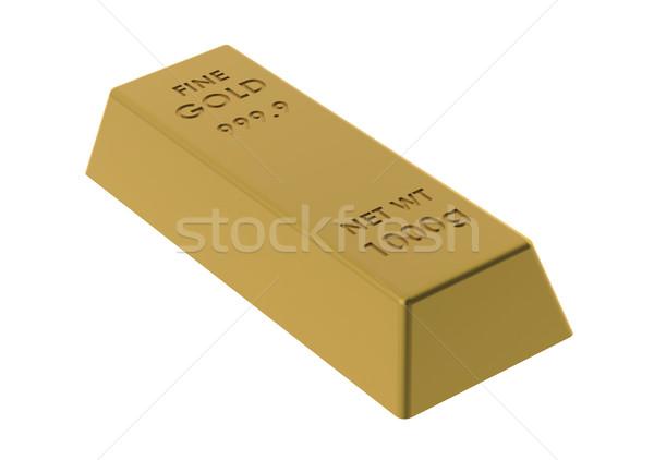 Gold Bar Stock photo © tang90246