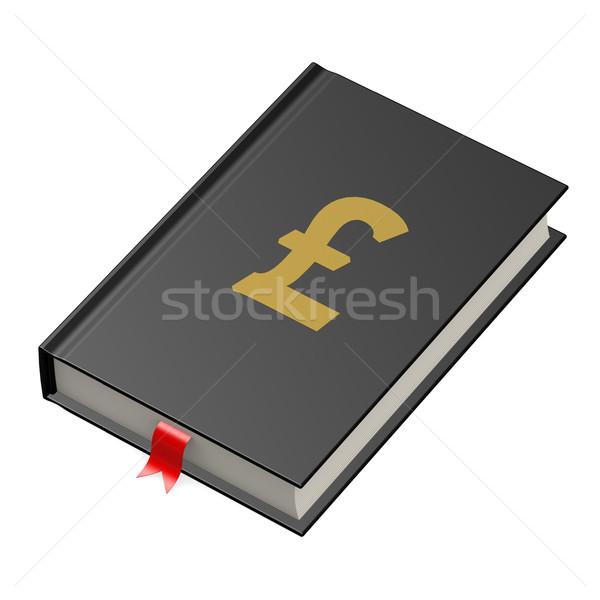 ポンド 図書 教育 にログイン 科学 金融 ストックフォト © tang90246