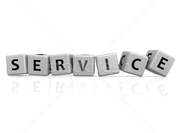 Service buzzword Stock photo © tang90246