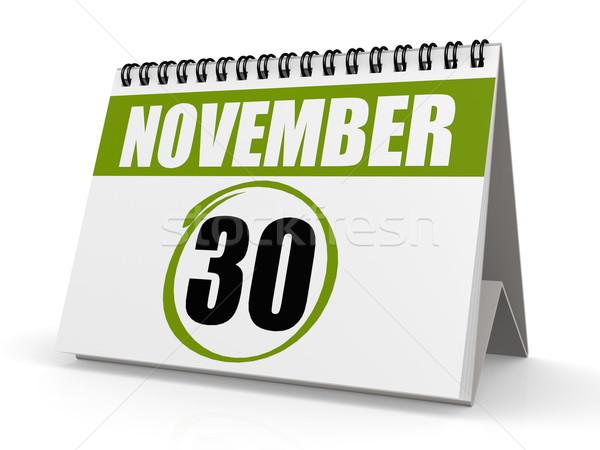30 nap üzlet papír háttér űr Stock fotó © tang90246