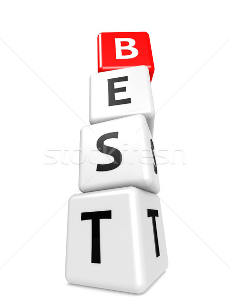 Buzzword best Stock photo © tang90246