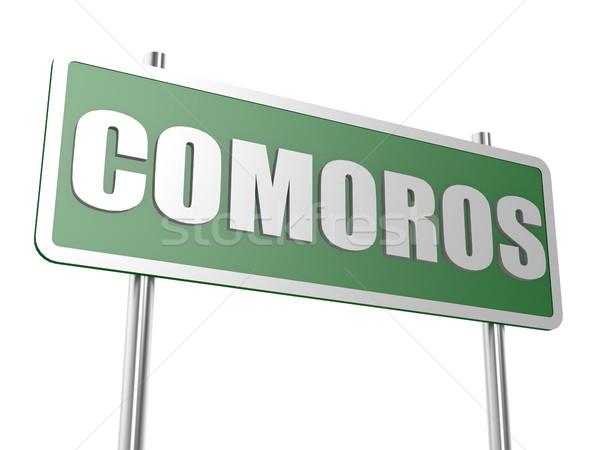 Comoros Stock photo © tang90246