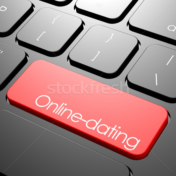 Online dating keyboard Stock photo © tang90246