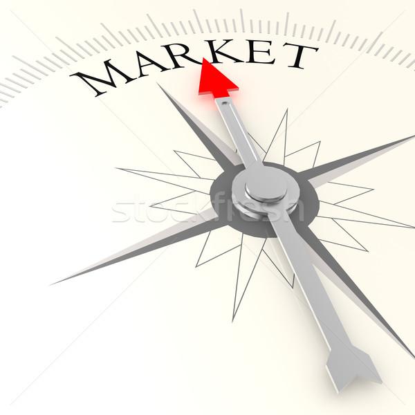Market compass Stock photo © tang90246