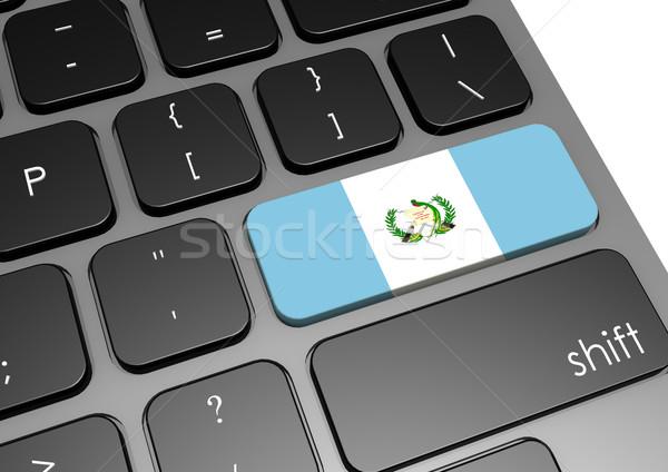 Гватемала клавиатура изображение оказанный используемый Сток-фото © tang90246