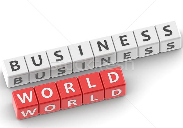 Buzzwords business world Stock photo © tang90246