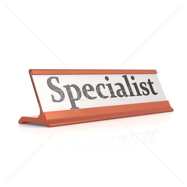 Specialist tabel tag vergadering Stockfoto © tang90246