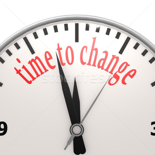 Time to change clock Stock photo © tang90246