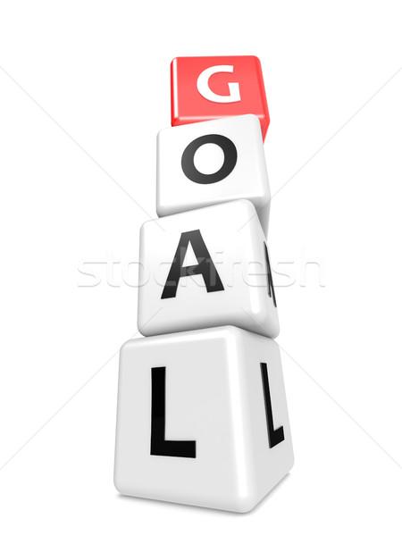 Buzzword goal Stock photo © tang90246
