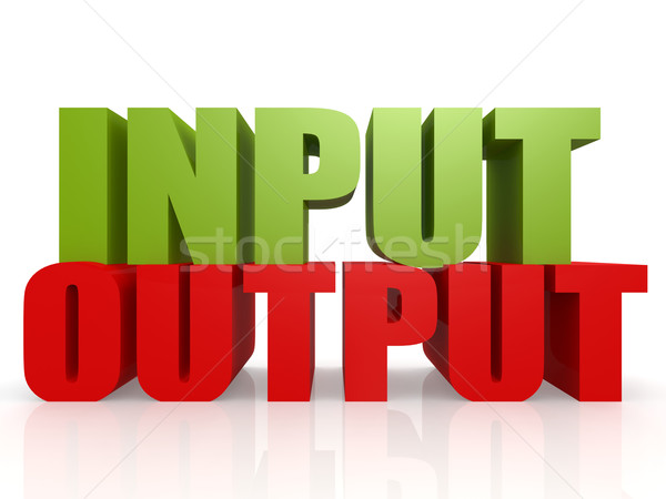 Input output Stock photo © tang90246