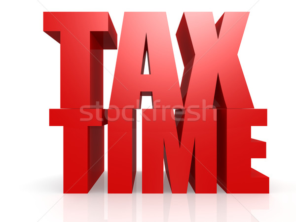 Tax time Stock photo © tang90246